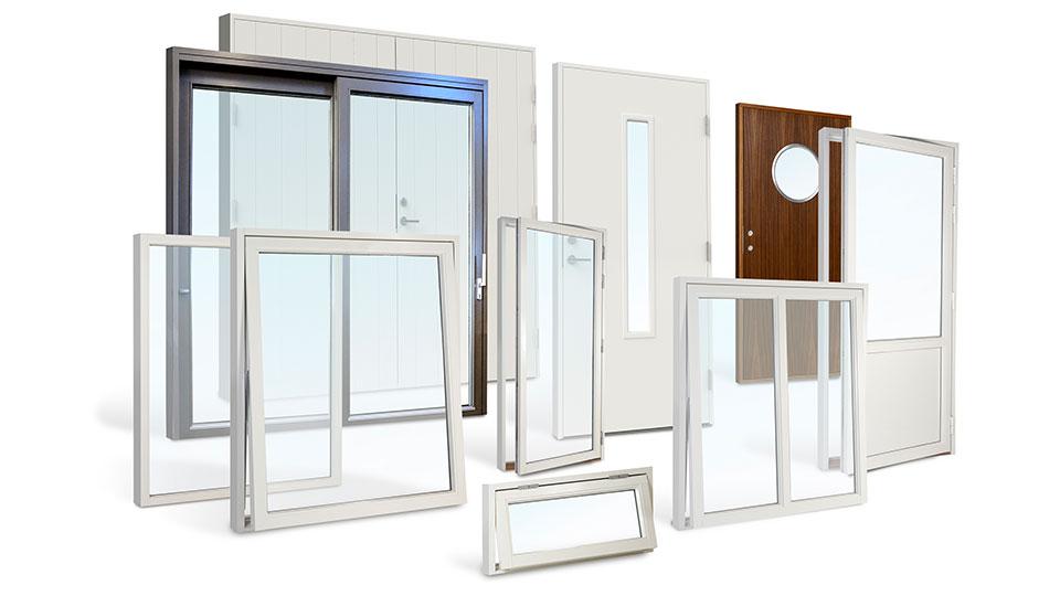 Svensktillverkade fönster och dörrar